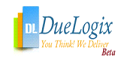 DL - DueLogix You Think! We Deliver Beta Company Logo