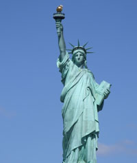 Miss Liberty - Freiheitsstatue in New York