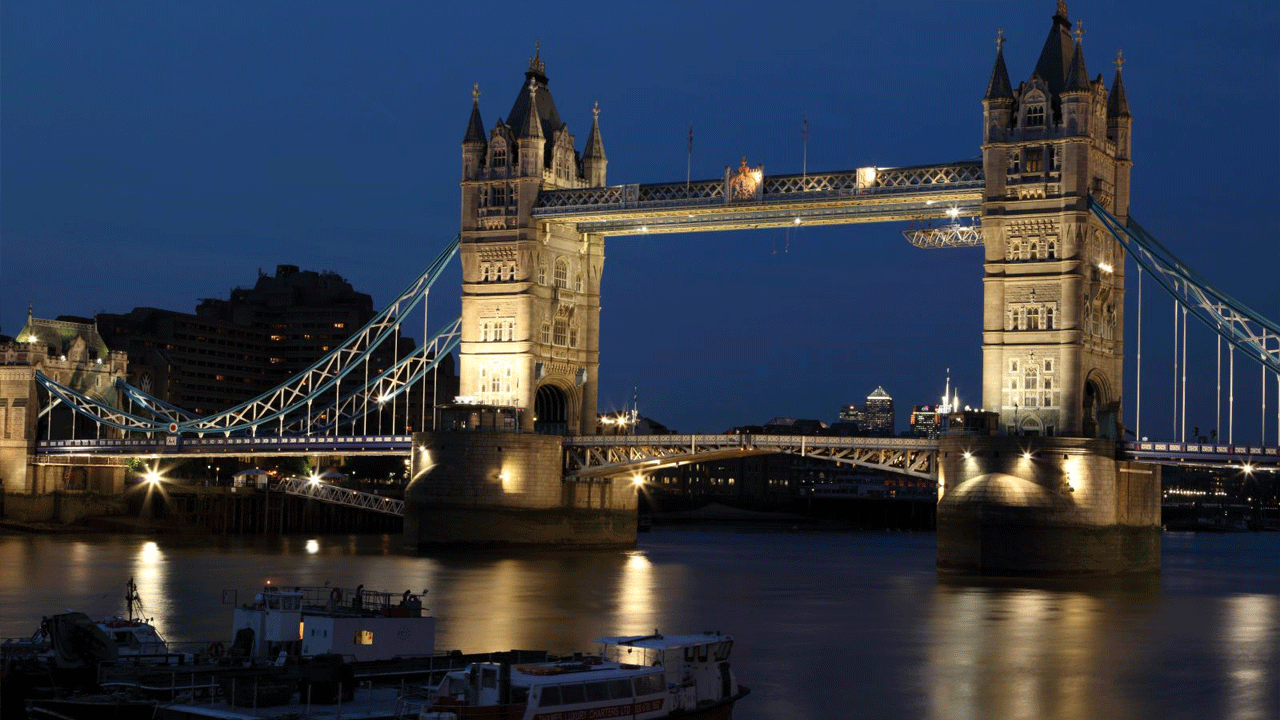 Themse Bridge London by Night