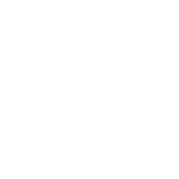White shaped Megaphone with white shaped Smartphone on  grey Background